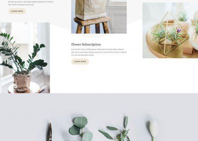 Bloemist Landing Page