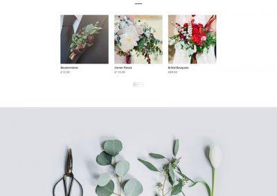 Bloemist Shop Page