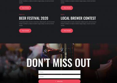 Brouwerij Events Page