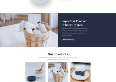 Cosmetica Shop Home Page