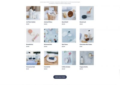 Cosmetica Shop Product Page