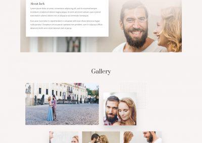 Huwelijk Landing Page
