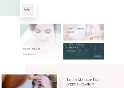 Make-up Home Page