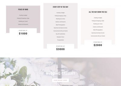 Weddingplanner Home Page